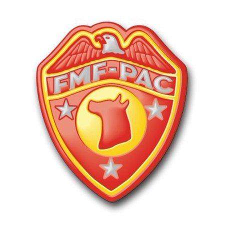 "US Marine FMF Dog Platoon Decal Sticker 3.8"""