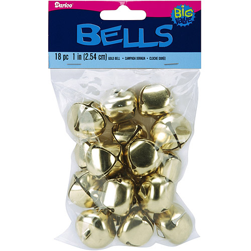 "Jingle Bells, 1"", 18/Pkg"