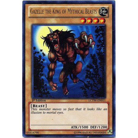 YuGiOh Legendary Collection 3 Gazelle the King of Mythical Beasts LCYW-EN011