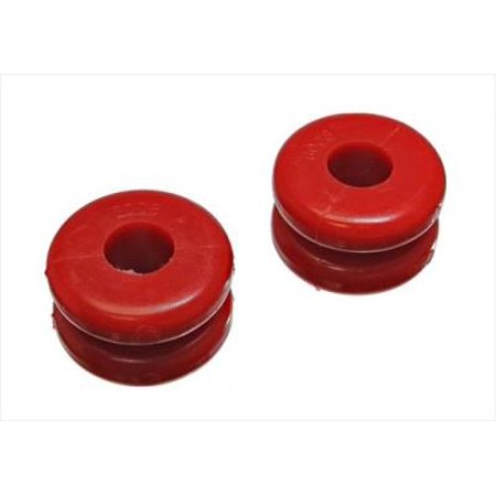 Energy Suspension 2-1/4in Tall x 3-9/16in Dia Red Coil Spring Damper Donuts (Set of 2)