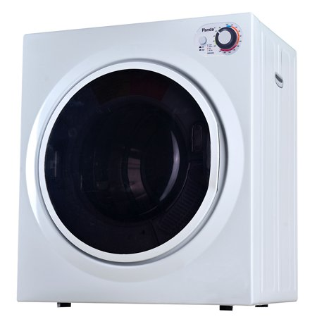 Panda 3.75 cu ft Portable Compact Electric Laundry Dryer, Top Control,