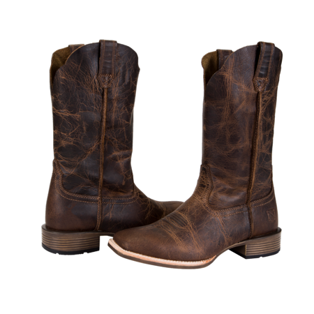 Noble 66040-121 Womens All-Around Square Toe Arizona Western Boot 6.5D (M) -