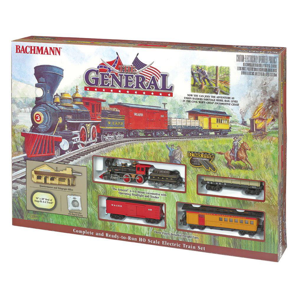 Bachmann Trains The General Civil War 1:87 Ho Scale Electric Model Train Set by Bachmann Trains
