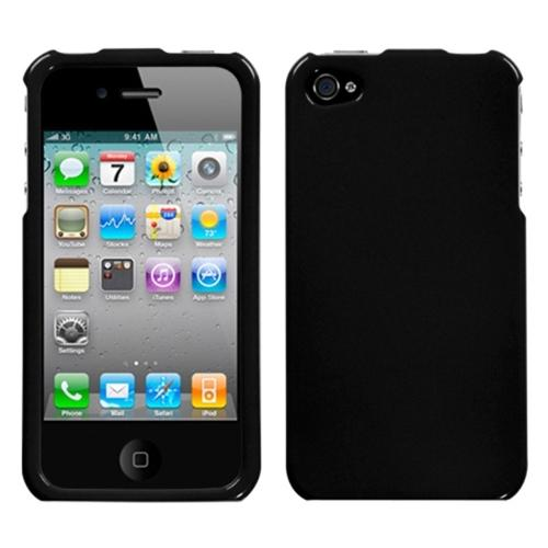 iPhone 4s case by Insten Solid Black Case For iPhone 4 4S