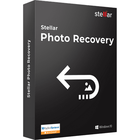 Stellar Photo Recovery Software | For Windows | Standard | Recover Lost or Deleted Photos, Audios, Videos | 1 Device, 1 Yr Subscription | CD (Windows Video Editing Software)