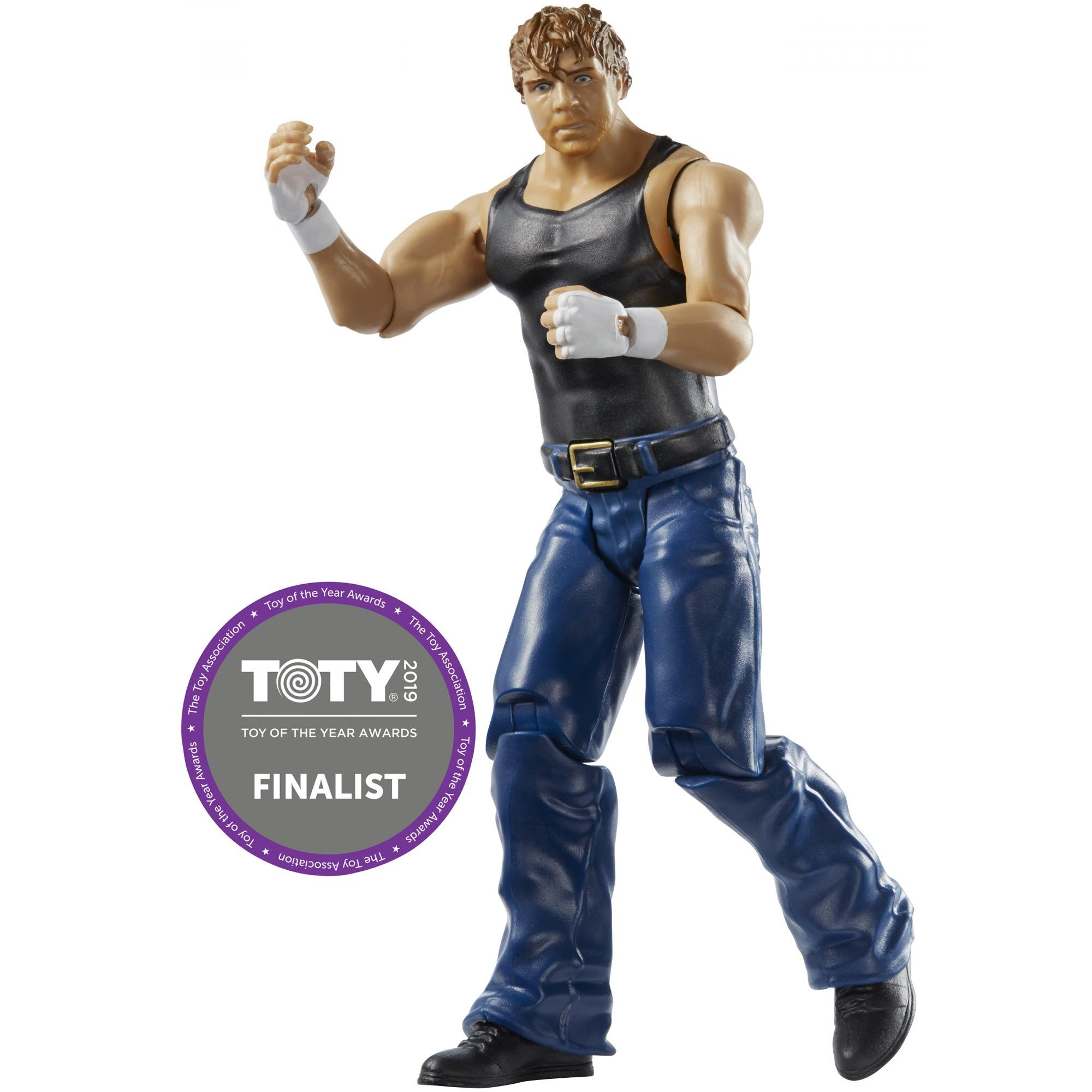 WWE Sound Slammers Dean Ambrose Figure with 20+ Sounds & Phrases