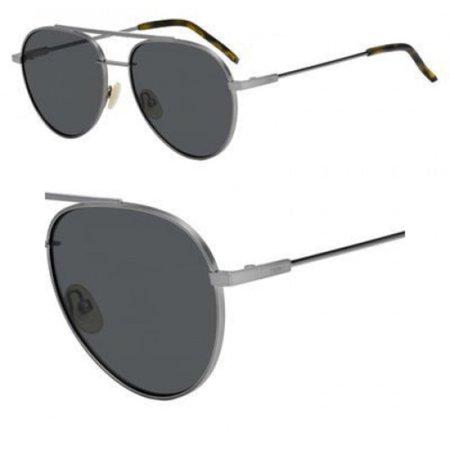 Sunglasses Fendi 222 /S 0KJ1 Dark Ruthenium / M9 gray polarized lens