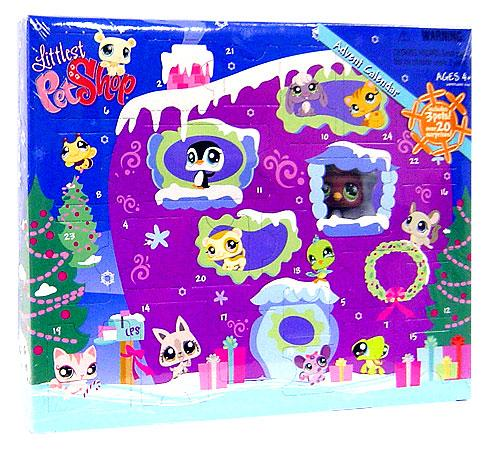 Hasbro Littlest Pet Shop 2008 Advent Calendar Exclusive F...