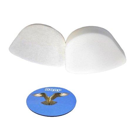HQRP Foam & Felt Filter Kit for Shark Navigator Lift-Away NV352, NV351, NV357 Series Upright plus HQRP Coaster