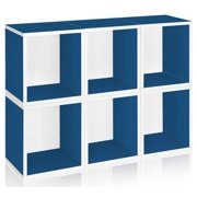Storage Cube Plus in Blue - Set of 6