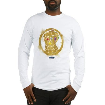 CafePress - Gold Infinity Gauntlet Long Sleeve T Shirt - Unisex Cotton Long Sleeve T-Shirt