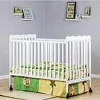 Baby Mod Olivia 3 In 1 Baby Crib Choose Your Finish