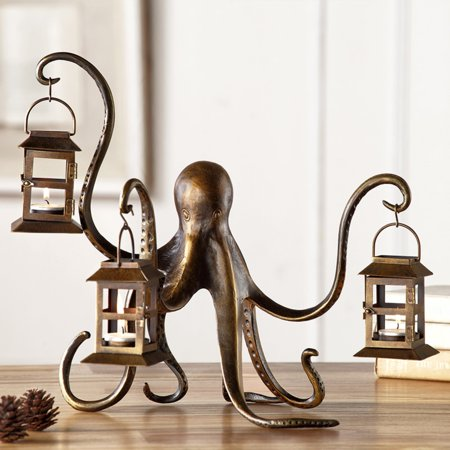 Bronze Lighthouse Lantern (San Pacific International Octopus)