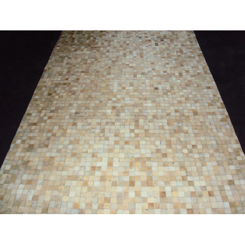 Modern Rugs Patchwork Static Neutral Area Rug