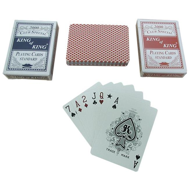 2 Decks-Club Special King of King Playing Cards