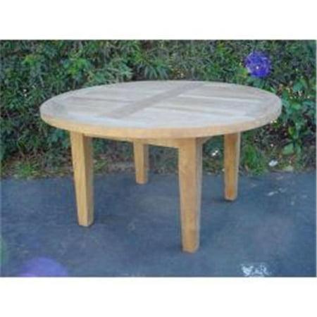 Anderson Teak Tb 107 Brianna 35 Inch Round Coffee Table Walmart Com