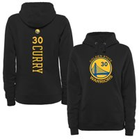 Stephen Curry Golden State Warriors Women's Backer Pullover Hoodie - Black