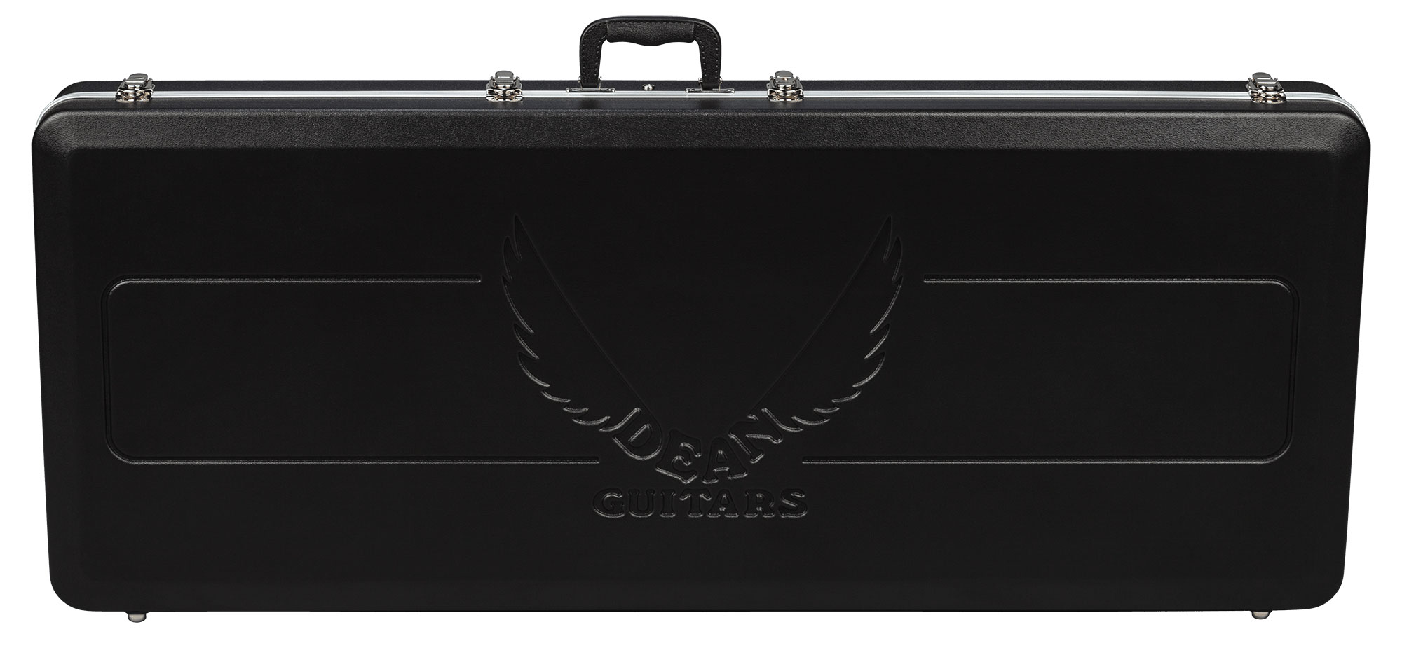 Dean ABS Molded Exterior Hard Shell Case for V Series Electric Guitars (ABS V) by