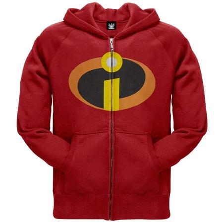 The Incredibles - Costume Zip Hoodie