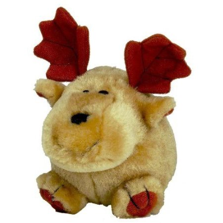 Petmate 291193 Booda Squatter Moose Toy For Pets Medium (Pack of 1)