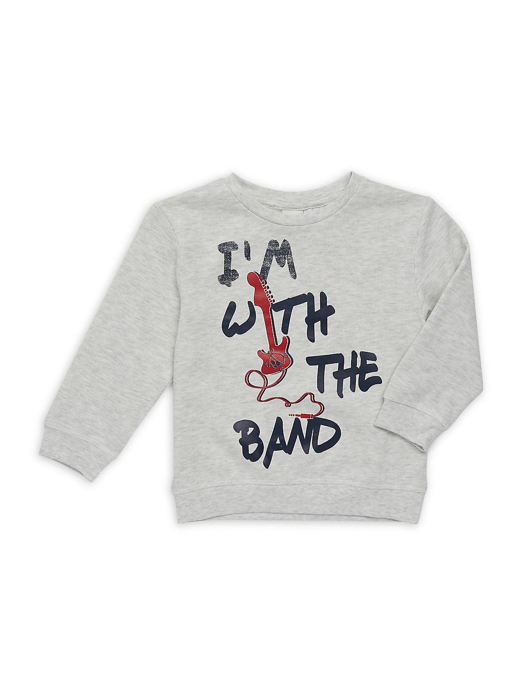Little Boy's I'm with the Band Sweatshirt