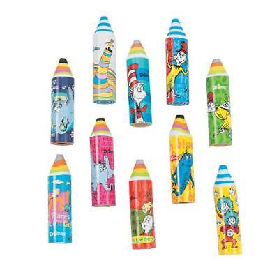 IN-13794104 Dr. Seuss Crayon Erasers 24 Piece(s)