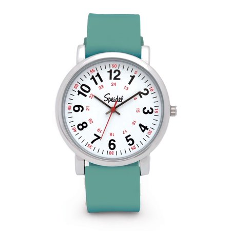 Medical Physician Nurse Scrub Womens Teal Green Silicone Watch 60340004](Silicon Watch)