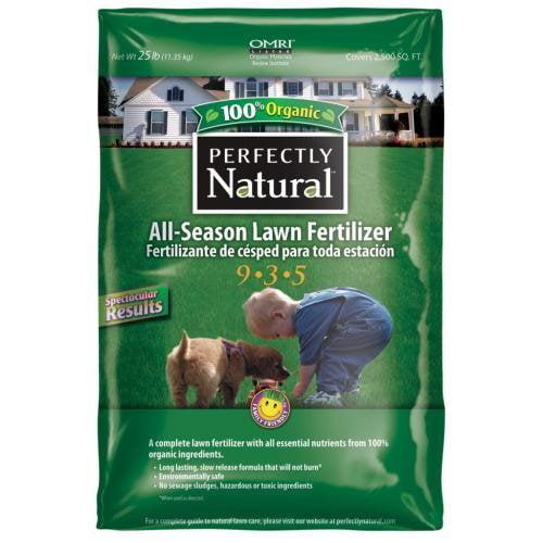 Sure-Gro 5803001 All Season Lawn 9-3-5 Fertilizer, 25-Pound