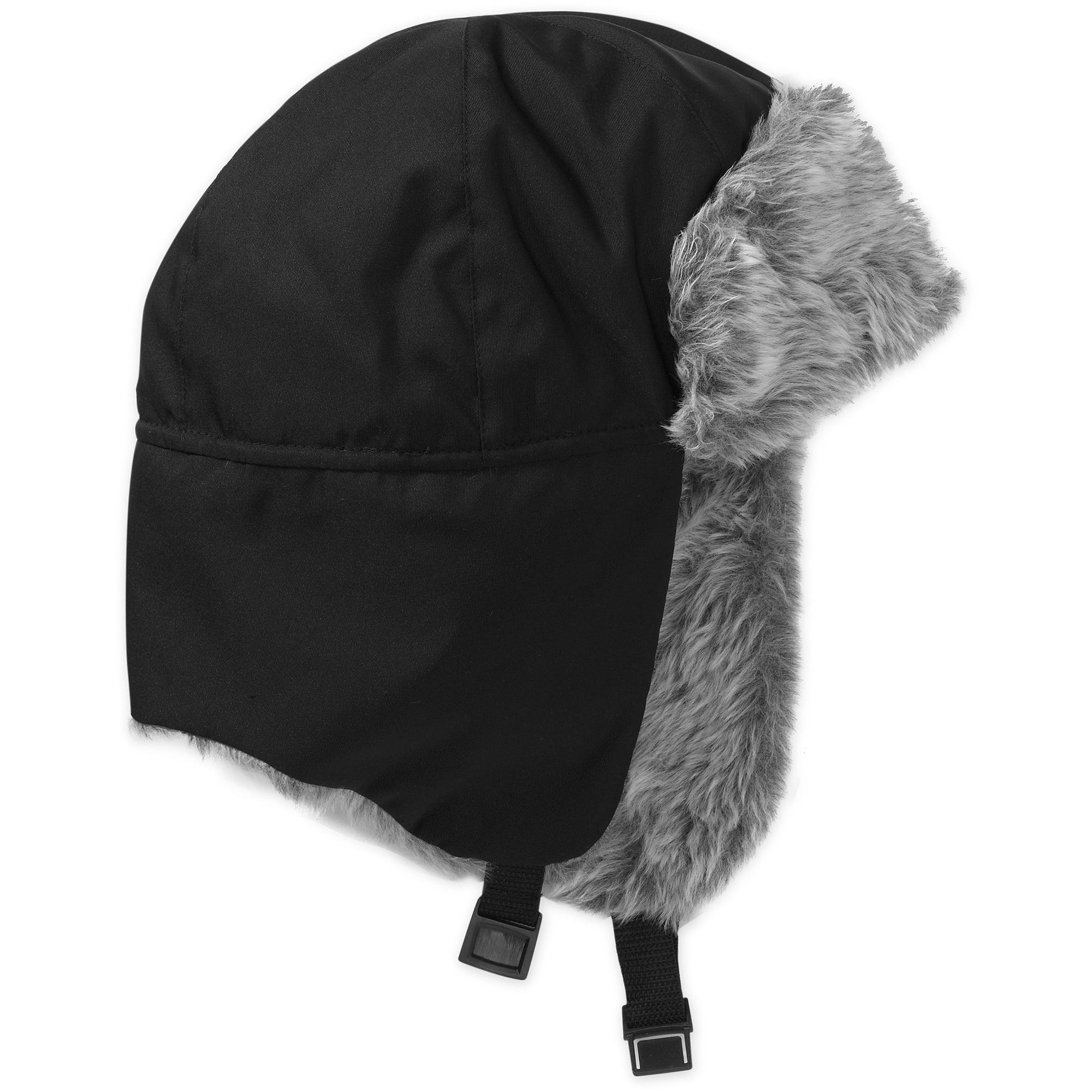 Men's Trapper Hat With Faux Fur