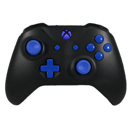 Xbox One Modded Rapid Fire Controller - Blue LED's, Custom Blue Buttons, Drop Shot, Jump Shot, Quick Scope Compatible Call of Duty & All (The Best Modded Controllers)