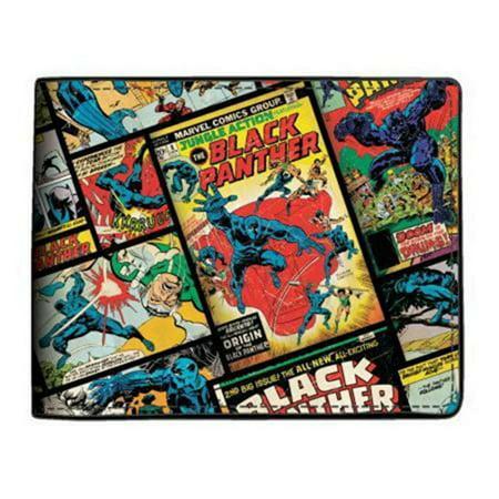 Marvel Black Panther Comic Bi-Fold Wallet NEW IN STOCK Mens Clothing Marvel Black Panther Comic Bi-Fold Wallet NEW IN STOCK Mens Clothing condition: New with tags Style: BifoldBrand: BioworldMPN: MQ5EPAMVL00PP00Color: Multi-ColorTheme: Black Panther