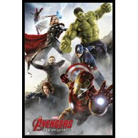 Marvel Avengers Age Of Ultron Group Iron Man Poster Poster Print