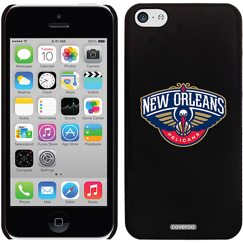 New Orleans Pelicans Emblem Design on iPhone 5c Thinshield Snap-On Case by Coveroo