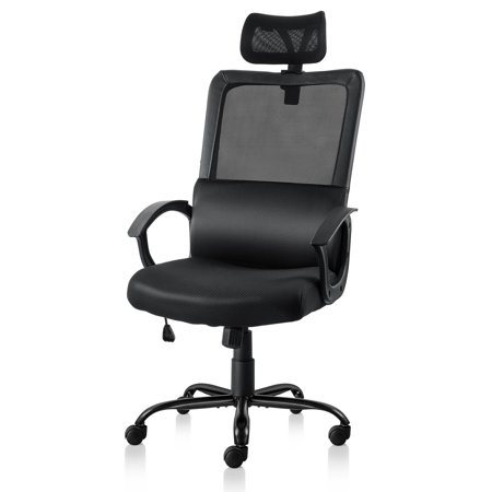 iCaber desk executive office chair, perfect chair for offices, homes and occasions, reliable mesh headrest, best armrest, elegantly designed back with best coated materials by