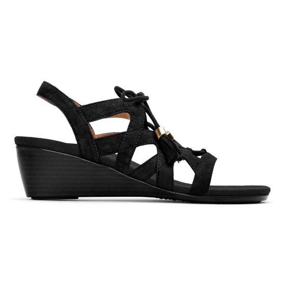 368650617af7 Vionic - Vionic Park Kalie - Women s demi-wedge Sandal - Black ...