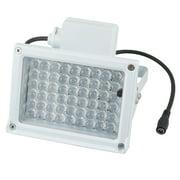 Unique Bargains Red 60 Degree 54 LEDs Outdoor Infrared Illuminator Lamp Light