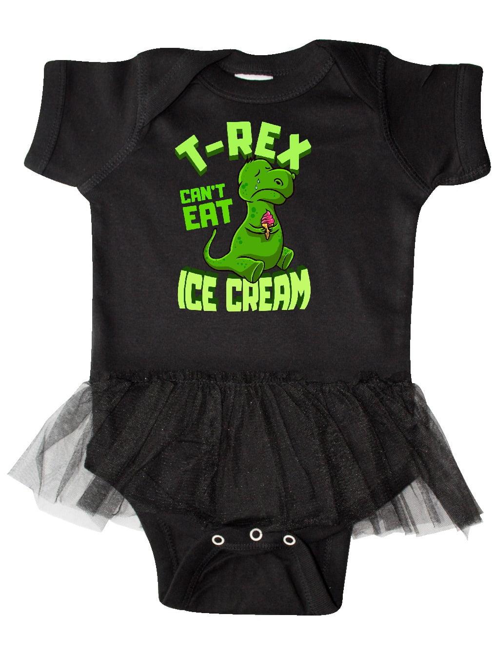Pink Infant Tutu Bodysuit inktastic Im Not Always This Sweet Ice Cream