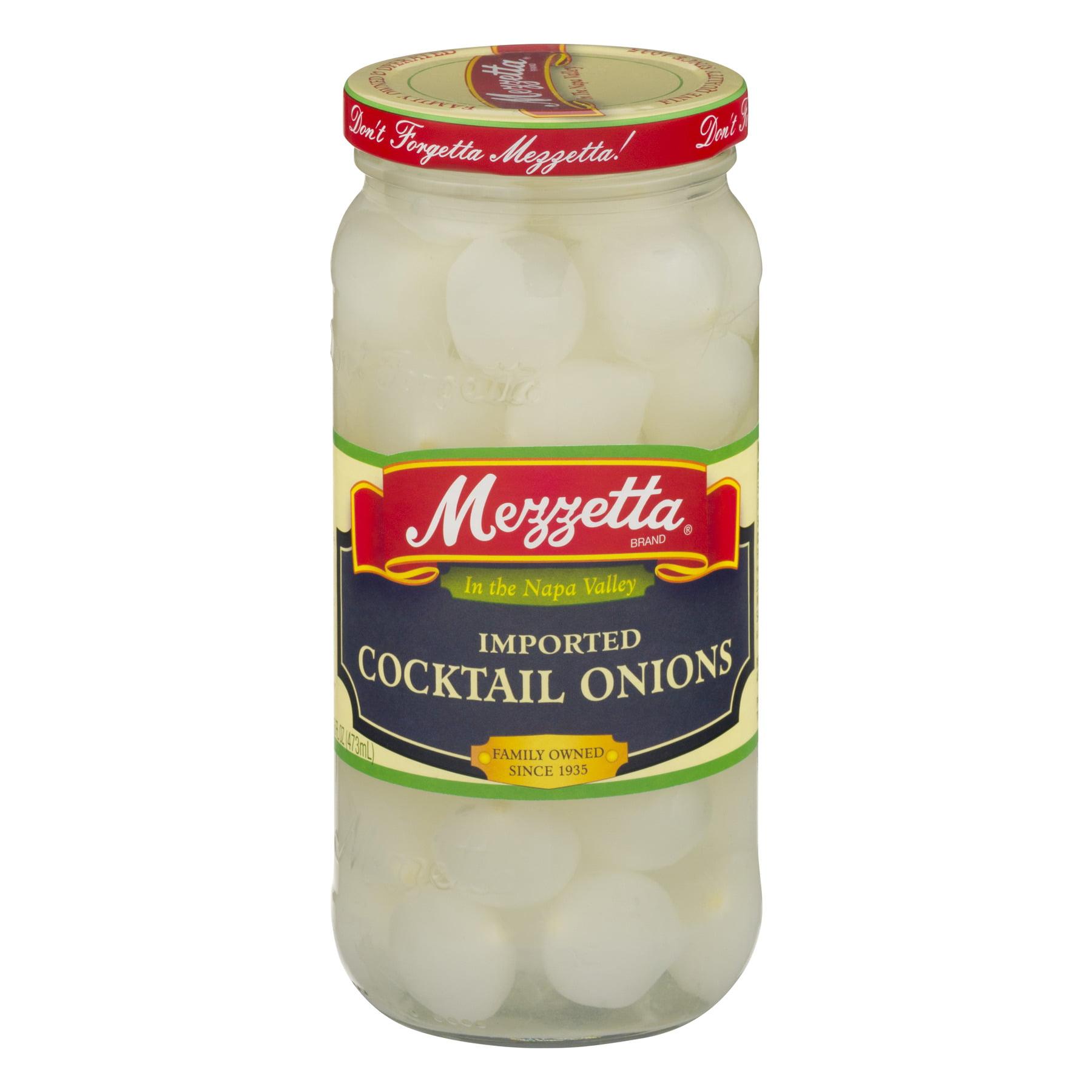 (6 Pack) Mezzetta Imported Cocktail Onions, 16 Oz