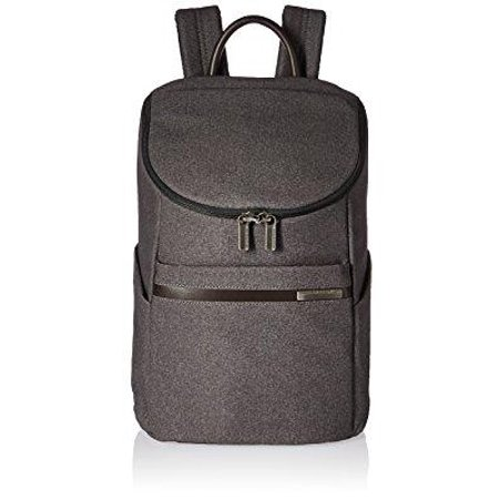 briggs & riley kinzie street, small wide mouth backpack, grey Briggs Riley Garment Bags