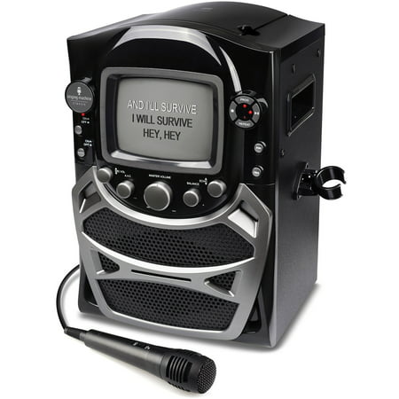 Singing Machine CD+G Karaoke System with Built-in 5.5