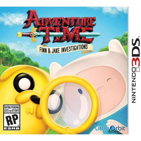 Little Orbit Adventure Time: Finn And Jake Investigations (Nintendo 3DS)](Jake Games)