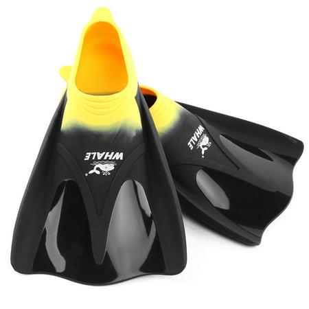 Adults Diving Fins Full Foot Flippers Close Heel Training Swimming Snorkeling Scuba Foot Pocket Fin Men Women](Scuba Flippers)
