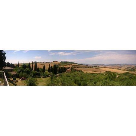 Italy Tuscany Toscano Italian - Canvas Print Toscana Tuscany Hills Italy Landscape Stretched Canvas 10 x 14