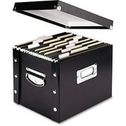Snap-N-Store Storage Box, Black - Available in Letter or Legal Size
