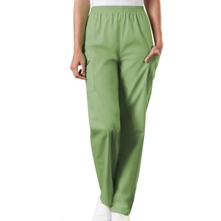 DSF Uniforms Women's Elastic Waist Utility Pull On Cargo Pant