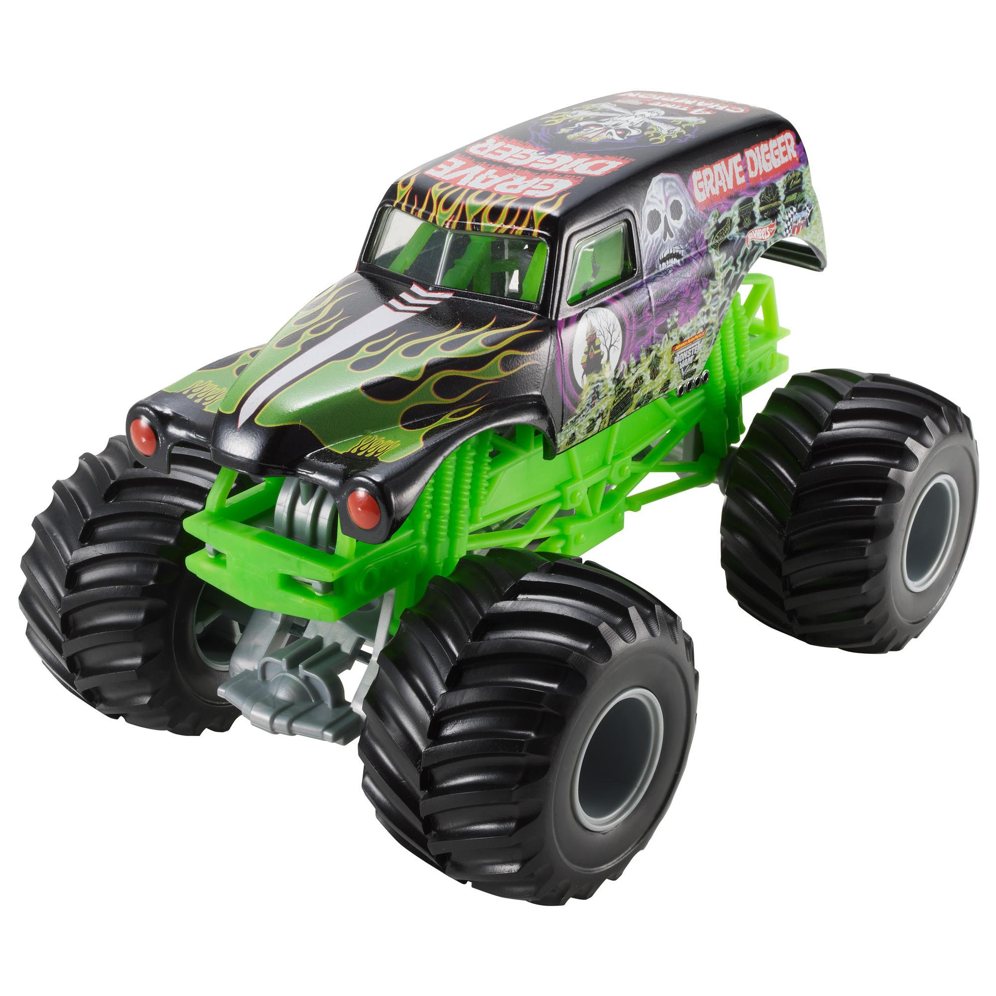 Hot Wheels Monster Jam 1:24 Grave Digger Die-Cast Vehicle