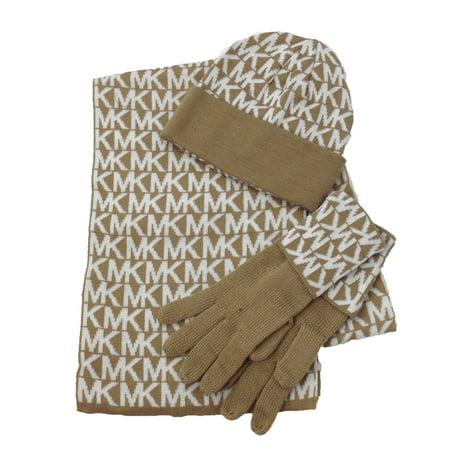 76f2d4e39a8ad Michael Kors MK Repeat Logo Knit Scarf