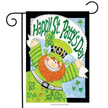 happy leprechaun st. patrick