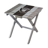 Las Vegas Raiders Imperial Folding Adirondack Table - Gray - No Size