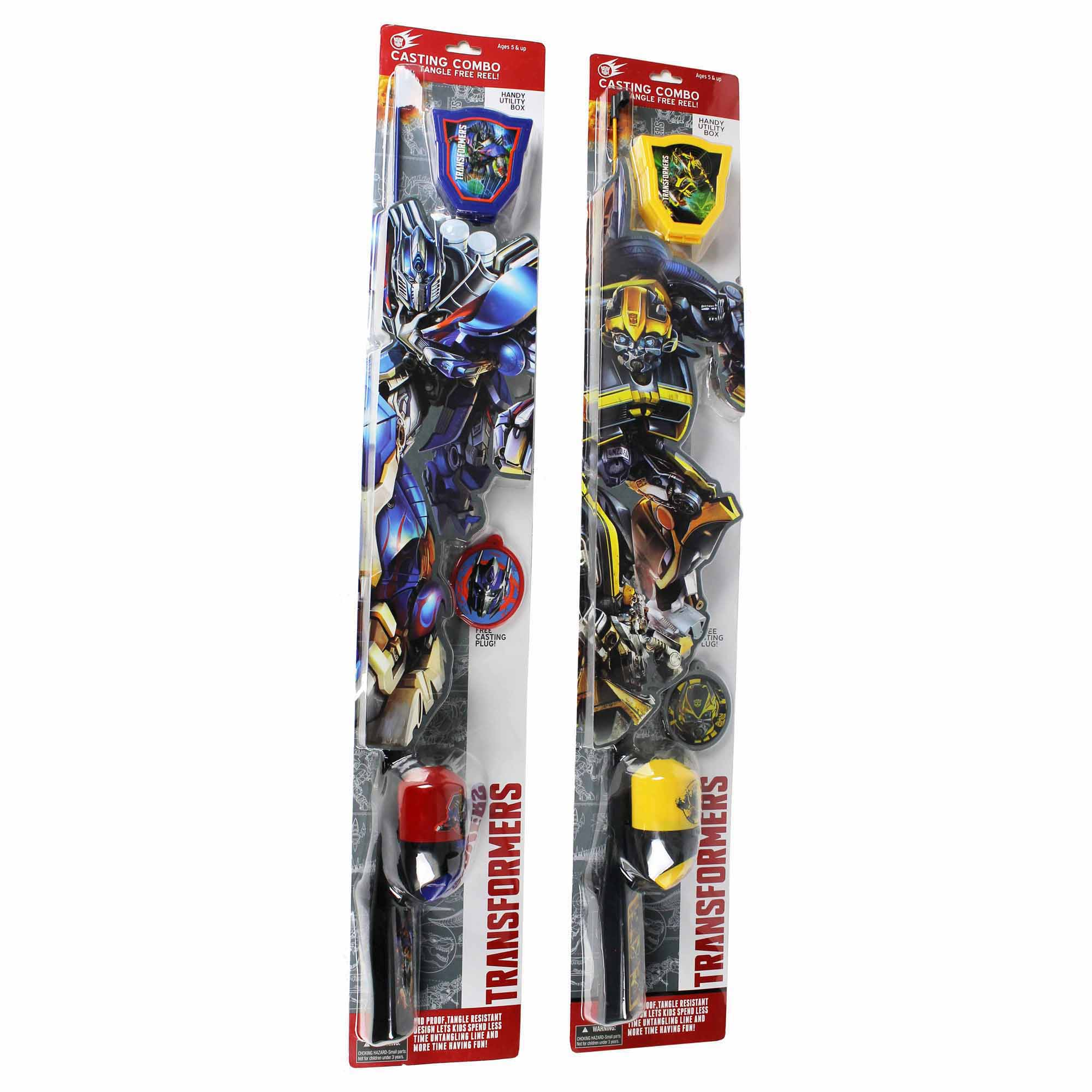 Transformers 4 Kid's Rod and Reel Combo
